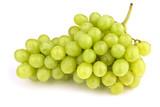 Fototapety Weintrauben isolated auf weißem Hintergrund mit Schatten