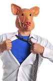 Swine Flu metaphor poster
