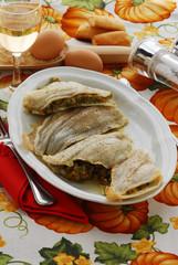 Tinche farcite al forno - Secondi di pesce