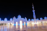 Sheikh zayed mosque in Abu Dhabi, UAE, Middle East poster