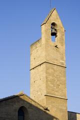 Patrimoine architectural : clocher d'église