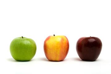 Fruits et vitamines - variétés de pommes