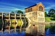 canvas print picture - Barton Dam, Ann Arbor