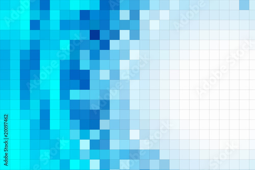 fondo mosaico azul turquesa © Maruba