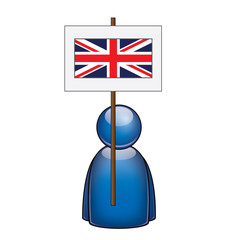 Pancarta Reino Unido