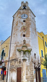 Clock tower of Monopoli. Apulia.