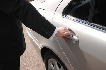 Chauffeur Opening Door 5