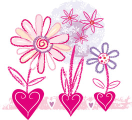 Floral's sketch