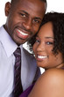 Happy Smiling Black Couple