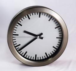 modern grey clock 03