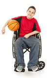 Disabled Teen Athlete poster