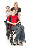 Group of Kids - One Disabled poster