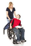 Disabled Boy and Friend poster