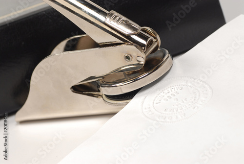 incorporation seal stamper