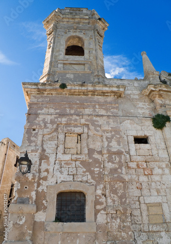 St. Salvatore church. Monopoli. Apulia.