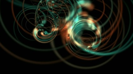 Seamless loop sequence,spiral movement