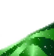 fondo pixels y estrellas