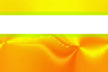 tarjeta amarilla pixelado