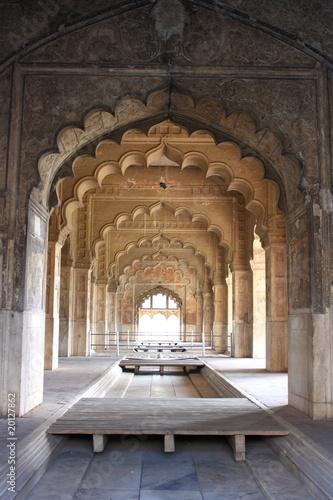 Tuinposter Delhi Moti Masjid, Delhi