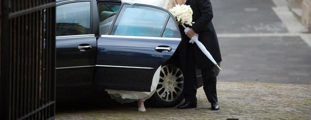 scende la sposa