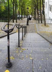Escaleras de Montmartre, París