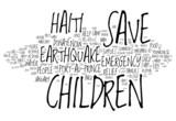 Haiti Earthquake Emergency - Help Haiti Rebuild poster