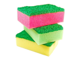 stacked sponges