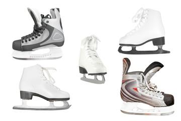Different kinds of skates