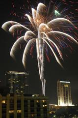 Downtown Orlando Fireworks