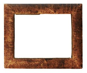 leather photo-frame