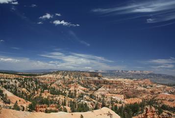Überblcik über den Bryce Canyon
