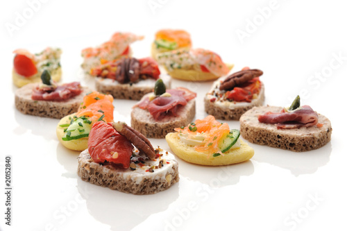 Papiers peints Assortiment toasts