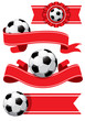 Set of Soccer design elements