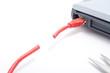 Kabel durchtrennt