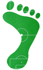 Soccer Foot Right - Fußball Fuß rechts