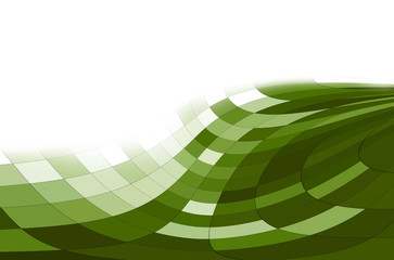 fondo geometrico verde y blanco