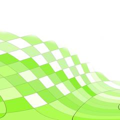 fondo mosaicos verdes y blancos
