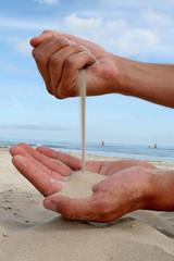 Menschliche Sanduhr