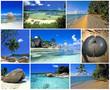 Leinwandbild Motiv les seychelles