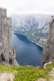 Mountain Kjerag in Norway