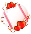 Valentine's Day. Bright greeting card