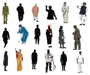 human motifs