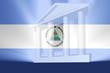 Flag of Nicaragua government