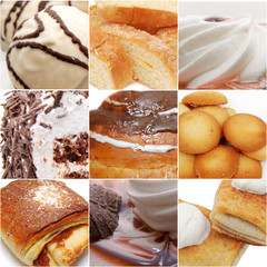 sweets collage - high definition photo