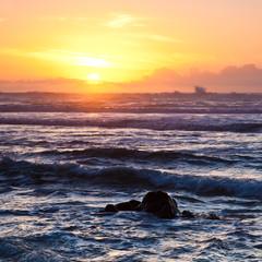 Ocean Sunset at Point Reyes National Seashore
