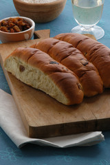 Pane con l uva - Pan co l ua - Dolci Veneto