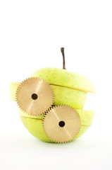 gears and apple