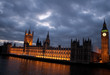 The Big Ben and the Houses of Parliament at dusk