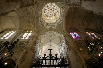 Cathedral interior, Burgos