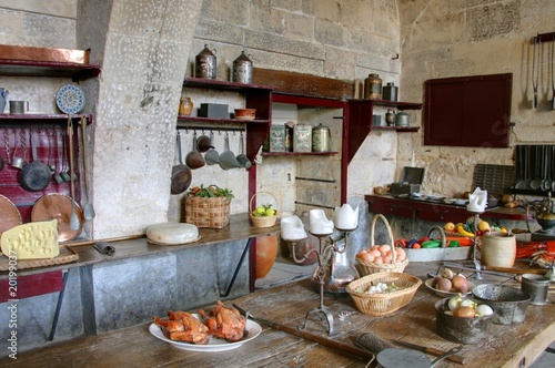 Cuisine campagnarde de lotharingia photo libre de droits for Cuisine campagnarde photo